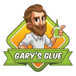 Glue-for-arts-and-crafts-garys-glue-logo